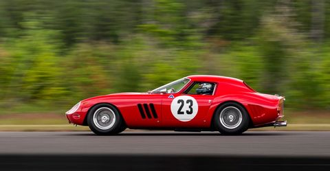 Land vehicle, Vehicle, Car, Sports car, Race car, Classic car, Coupé, Ferrari 250, Ferrari 250 gto, Sedan,