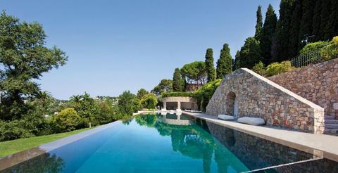 Property, Swimming pool, Real estate, Resort, Azure, Aqua, Villa, Garden, Estate, Landscaping,