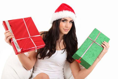 Christmas, Christmas stocking, Tree, Santa claus, Present, Fictional character, Christmas eve,