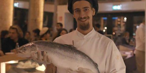Fish, Fish, Mouth, Salmon, Fishmonger, Seafood, Bony-fish,