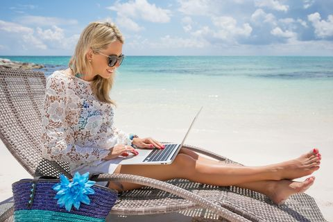 Vacation, Sitting, Summer, Fun, Leg, Leisure, Sea, Reading, Barefoot, Travel,