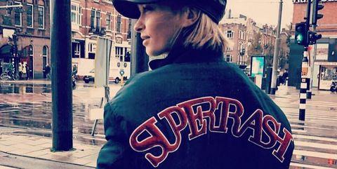 Cool, Font, Outerwear, Headgear, Cap, T-shirt, Photography, Jacket,