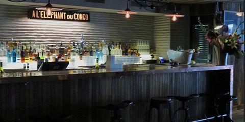 Light fixture, Restaurant, Trade, Countertop, Mixing bowl,