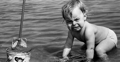 Water, Child, Black-and-white, Smile, Photography, Fun, Adaptation, Play, Monochrome photography, Curious,