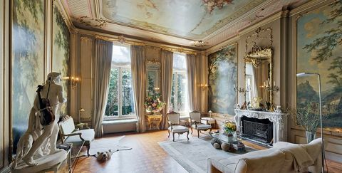 Room, Interior design, Living room, Property, Ceiling, Building, Furniture, Curtain, House, Home,