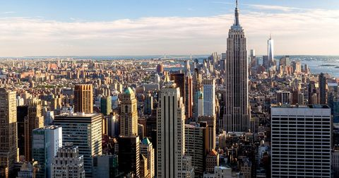 Cityscape, City, Metropolitan area, Metropolis, Urban area, Skyscraper, Skyline, Tower block, Daytime, Landmark,
