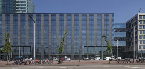 Architecture, Building, Commercial building, Metropolitan area, Facade, Daytime, Mixed-use, Urban area, Corporate headquarters, Headquarters,
