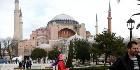 Landmark, Dome, Mosque, Place of worship, Building, Byzantine architecture, Khanqah, Holy places, Tourism, Historic site,