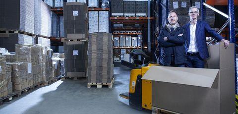 Warehouseman, Transport, Forklift truck, Warehouse, Factory, Machine, Vehicle, Asphalt,