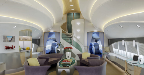 Room, Interior design, Property, Building, Ceiling, Architecture, Living room, Business jet, Furniture, Real estate,