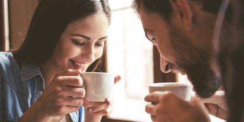 Cup, Drinking, Cup, Coffee cup, Eating, Hand, Drinkware, Gesture, Conversation, Tableware,