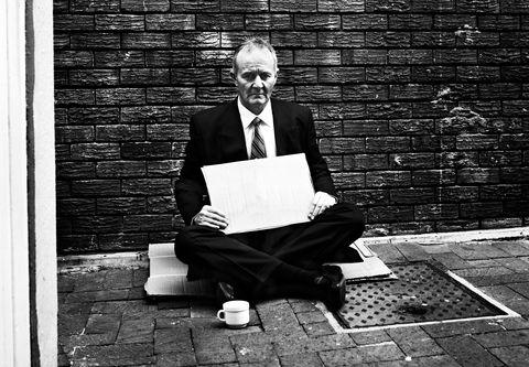 White, Black, Photograph, Sitting, Black-and-white, Monochrome, Standing, Snapshot, Monochrome photography, Wall,