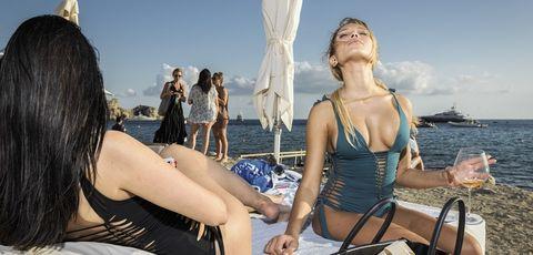 Fun, Vehicle, Vacation, Sun tanning, Bikini, Swimwear, Tourism, Leisure,