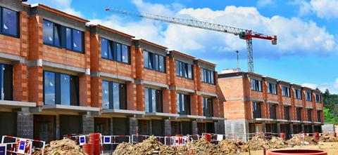 Property, Construction, Building, Crane, Apartment, Neighbourhood, House, Real estate, Home, Facade,