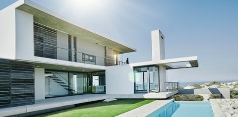 House, Property, Home, Architecture, Building, Residential area, Real estate, Facade, Interior design, Villa,