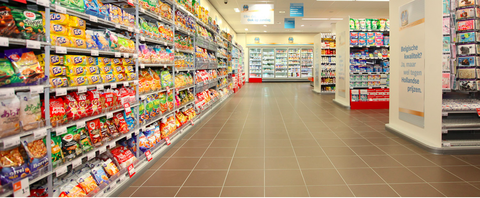 Supermarket, Retail, Convenience store, Grocery store, Product, Building, Aisle, Convenience food, Outlet store, Customer,