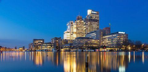 City, Metropolitan area, Cityscape, Skyline, Reflection, Metropolis, Tower block, Human settlement, Urban area, Landmark,