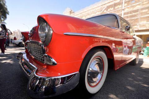 Land vehicle, Vehicle, Car, Classic car, Motor vehicle, Coupé, Classic, Custom car, Sedan, Bumper,