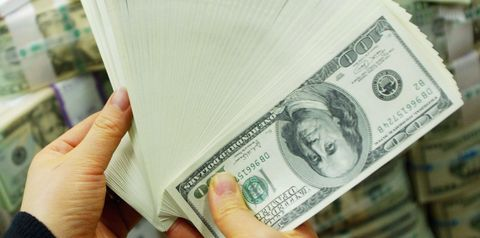 Finger, Skin, Chin, Banknote, Money, Paper product, Paper, Cash, Currency, Money handling,