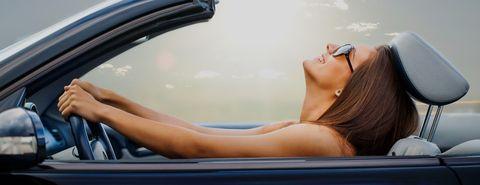 Vehicle, Sun tanning, Car, Eyewear, Automotive design, Vehicle door, Driving, Auto part, Personal luxury car, Sunglasses,