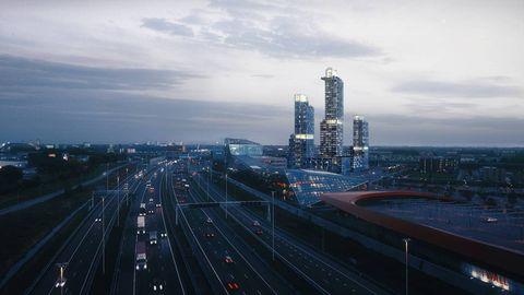 Metropolitan area, Cityscape, Urban area, City, Freeway, Highway, Road, Metropolis, Skyline, Skyscraper,