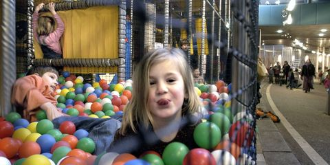 ball pit, play, child, toy, fun, toddler, playground, leisure,