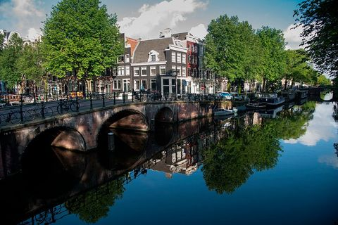 Waterway, Canal, Water, Reflection, River, Sky, Town, Tree, Watercourse, Architecture,