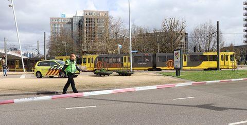 Transport, Mode of transport, Vehicle, Yellow, Tram, Lane, Bus, Road, Street, Pedestrian,