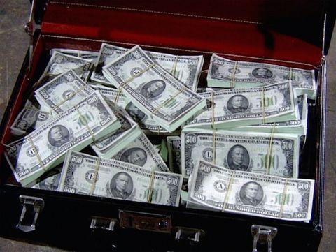 Cash, Money, Currency, Banknote, Dollar, Money handling, Saving, Games,