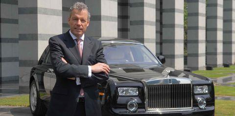 Land vehicle, Vehicle, Luxury vehicle, Car, Rolls-royce, Motor vehicle, Sedan, Rolls-royce phantom, Rolls-royce phantom coupé, Classic car,