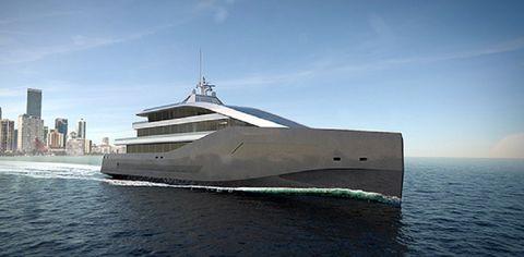 Yacht, Luxury yacht, Ship, Boat, Naval architecture, Vehicle, Watercraft, Passenger ship, Ferry, Motor ship,