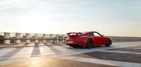 Land vehicle, Vehicle, Car, Sports car, Supercar, Automotive design, Performance car, Porsche 911 gt3, Porsche, Coupé,