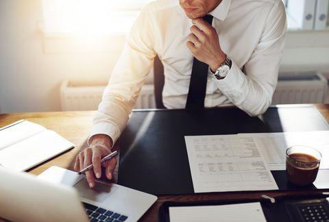 Job, White-collar worker, Businessperson, Sitting, Business, Employment, Hand, Desk, Office, Interior design,