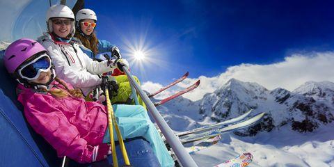 Skier, Mountainous landforms, Mountain, Snow, Ski mountaineering, Geological phenomenon, Winter, Recreation, Winter sport, Mountaineer,