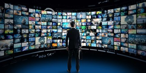 Television, Electronics, Television studio, Media, Multimedia, Display device, World, Space, Television set, Broadcasting,
