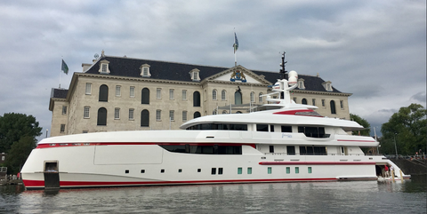 Vehicle, Water transportation, Luxury yacht, Motor ship, Yacht, Boat, Ship, Ferry, Watercraft, Naval architecture,