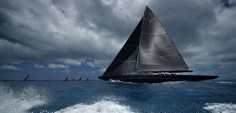 Sailing, Sail, Water transportation, Sailing, Boat, Vehicle, Sailboat, Watercraft, Sky, Galway hooker,