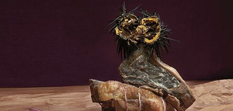 Sculpture, Art, Wood, Organism, Plant, Still life, Nonbuilding structure, Water feature, Metal, Still life photography,