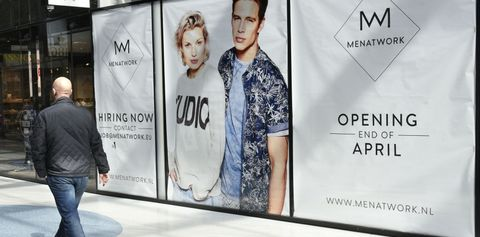 Advertising, Fashion, Banner, Design, Jeans, Font, Denim, Signage, Brand, Display advertising,