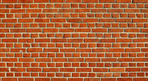 Brick, Orange, Colorfulness, Brickwork, Property, Wall, Pattern, Red, Photograph, White,
