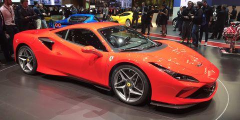 Land vehicle, Vehicle, Car, Supercar, Sports car, Coupé, Auto show, Automotive design, Performance car, Luxury vehicle,