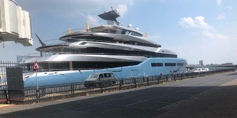 Vehicle, Boat, Luxury yacht, Ship, Naval architecture, Yacht, Motor ship, Water transportation, Passenger ship, Watercraft,