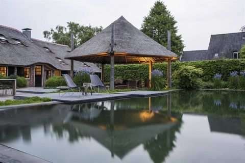 Reflection, Water, Architecture, Pond, Reflecting pool, Botany, Tree, House, Building, Garden,