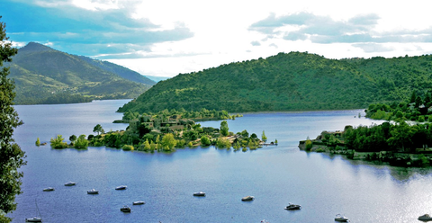 Body of water, Water resources, Nature, Natural landscape, Water, Highland, Lake district, Lake, River, Loch,