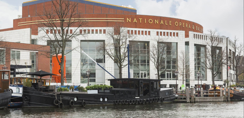 Waterway, Architecture, Building, Water, Mixed-use, Water transportation, Restaurant, City, Vehicle, Facade,