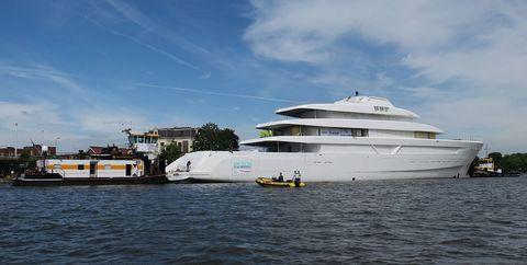 Water transportation, Luxury yacht, Yacht, Boat, Vehicle, Ship, Naval architecture, Motor ship, Watercraft, Waterway,