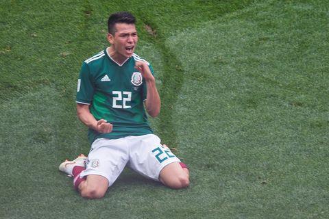 Player, Football player, Team sport, Green, Grass, Soccer, Soccer player, Ball game, Sports, Sports equipment,