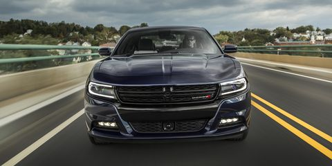 We dig the Charger's new duds. It's evolved, &nbsp;it's distinctive ,and it&nbsp;has serious&nbsp;presence. The Pentastar V6 makes 292 hp, and that's good enough to haul the admittedly husky sedan to 60 in 6.5 seconds—just a second off what the 2005 Dodge Charger R/T did 10 years ago with a 350-hp Hemi underhood. That car didn't have a miraculous 8-speed auto; this one does. Instead of a bargain-basement penalty box, it's a quick, comfortable, handsome, and unabashedly American sedan for less than $30k. &nbsp;- <em>Alex Kierstein</em>