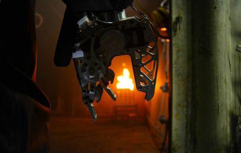 SAFFiR the firefighting robot