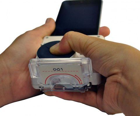 Rapid HIV Testing Smartphone Device